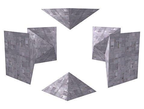 The Cube Pyramids