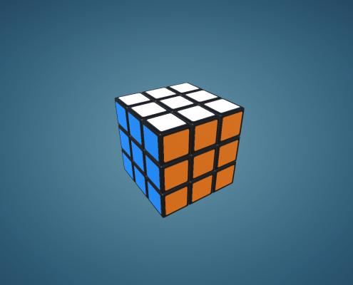 Interactive X*X*X Rubik Cube